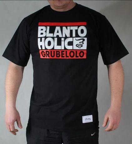 NOWA koszulka GRUBE LOLO XL Blantoholic dymek bongo prawilny promocja