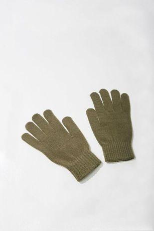 Перчатки митенки FOREVER21 с отделкой в рубчик !