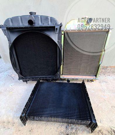 Радиатор водяного охлаждения (сердцевина) МТЗ 80,ЮМЗ латунный,алюминий