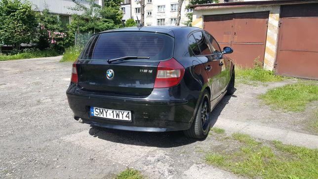 BMW e87 118d 122 km 2005r uszkodzona tylna belka (korozja)