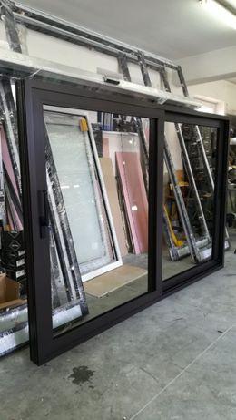 okno aluminiowe tarasowe przesuwne SLIDING 1200