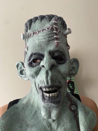 Máscara realista Halloween/ Carnaval de Frankenstein