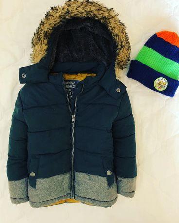 Куртка осень-зимняя 3-4-5лет
