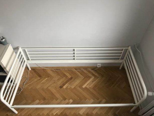 rama łóżka metalowa-biała ( 95*205 )