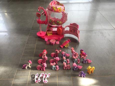 My Little Pony domek z gumy balonowej + koniki