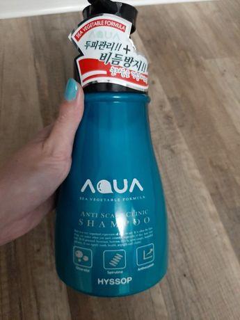 Шампунь для волосс Hyssop Aqua На основе морских водорослей и минерало