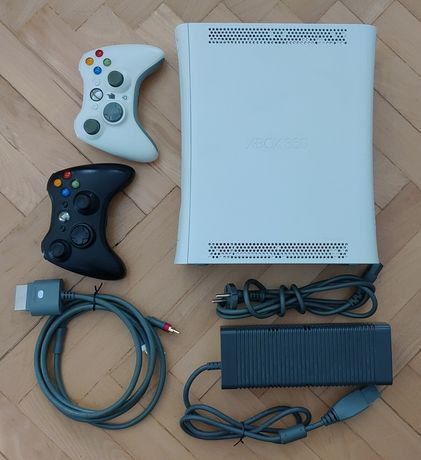 Xbox360 2pady, pilot, 6 gier.