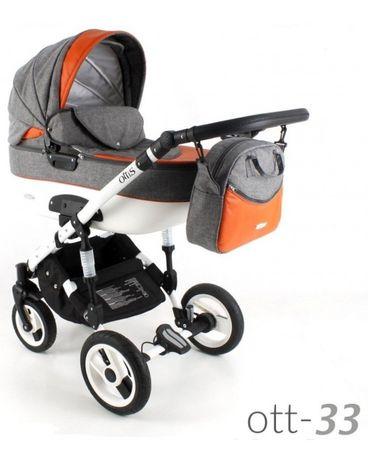 Дитяча коляска універсальна 3 в 1 Adbor Ottis