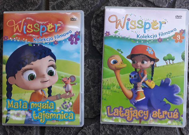 2 płyty dvd 16 bajek o Wissiper!