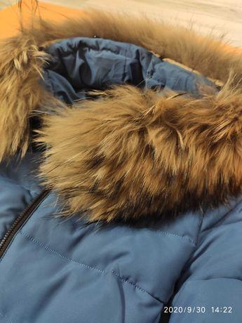 Пуховик зимний (размер 42-44)