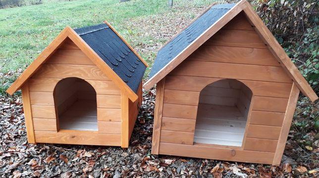 Piękne drewniane ocieplane budy dla psów