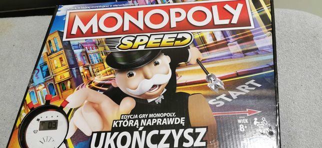 Gra planszowa monopoly speed z zegarem