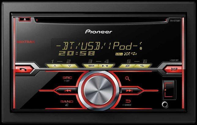 Магнитола Pioneer FH-X775BT 2DIN USB mp3 Bluetooth, оригинал - Япония