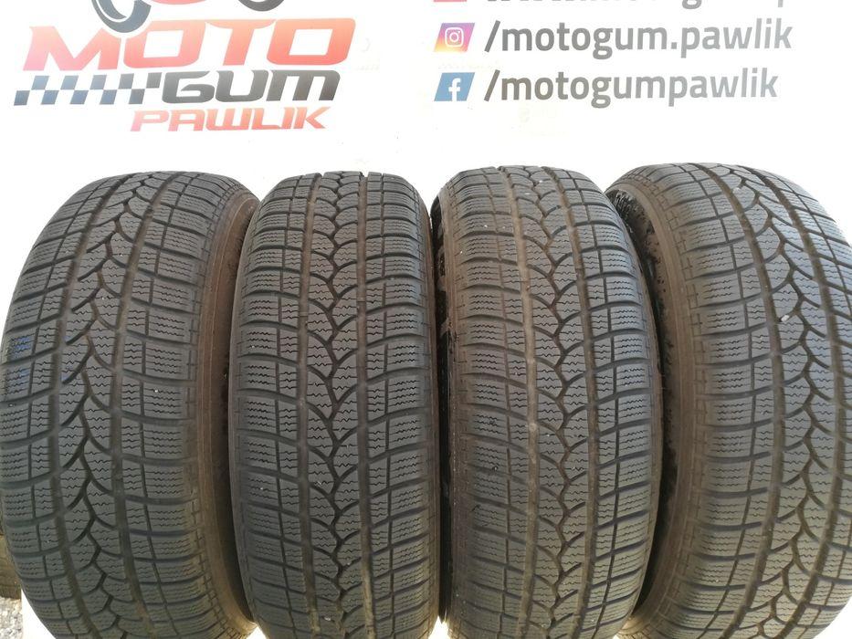 Opony zimowe 4x 205/60r16 92H gr. Michelin 7mm Dąbrowa Górnicza - image 1