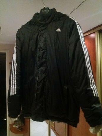 Męska Kurtka Puchowa Adidas Czarna M Oryginalna