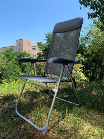 Стілець розкладний/Крісло розкладне з алюмінію.
