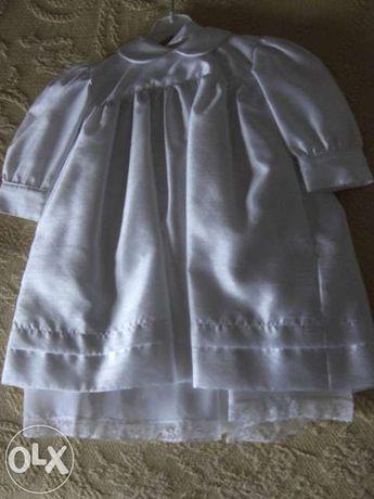 Vendo Vestido de Baptismo P/P