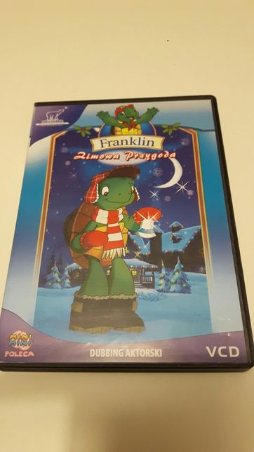 Franklin - Zimowa Przygoda - bajka VCD dla dzieci