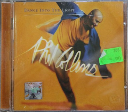 """Cd Musical """"Phil Collins - Dance Into The Light"""""""