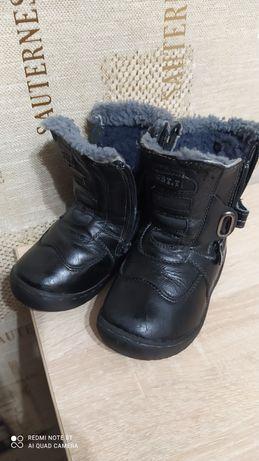Продам ботинки зимние