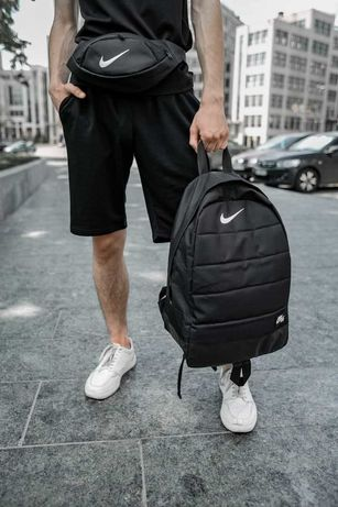 Рюкзак + Бананка Nike | Портфель городской спортивный мужской женский
