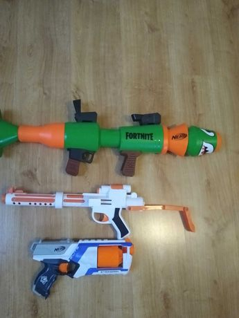 Pistolety na strzałki piankowe nerf