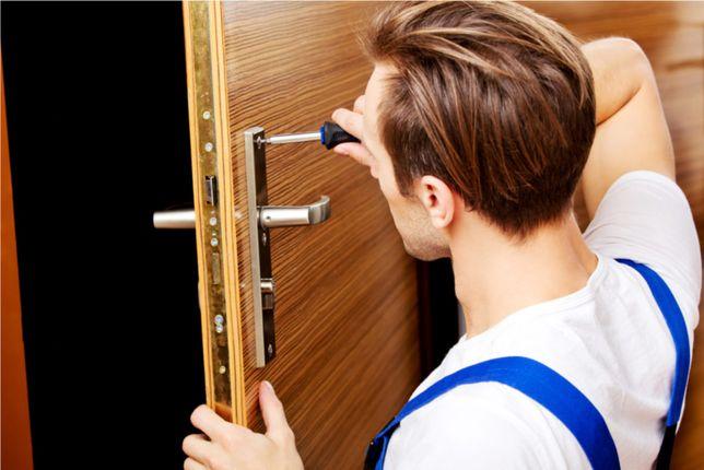 wymiana wkładek drzwiowych, montaż zamków, ślusarz, usługi ślusarskie