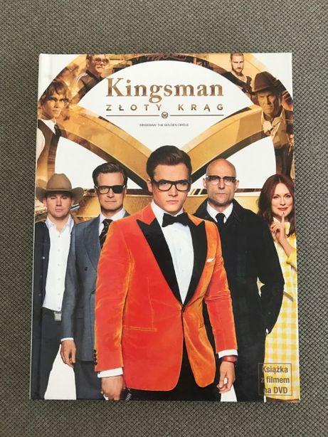 Kingsman Złoty Krąg DVD / wydanie książkowe /