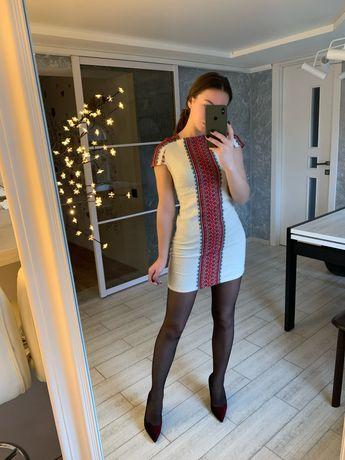 Вишите лляне плаття / платье вышывка льон