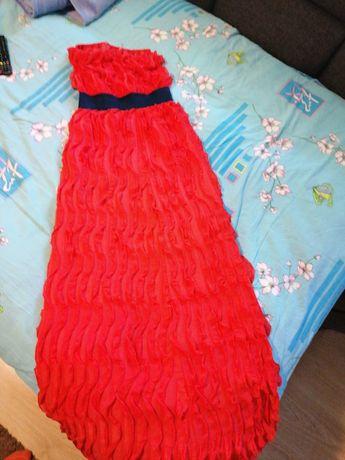 Платье макси очень крутое