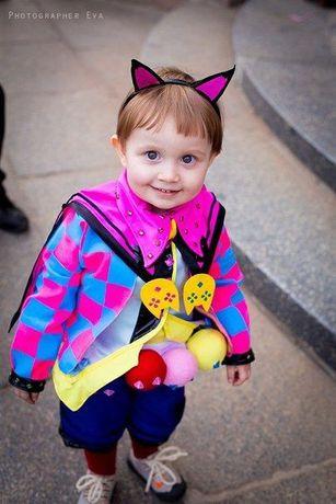 Необычный детский карнавальный костюм