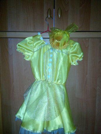 Жёлтое платье. Костюм конфеты платье на праздник утренник