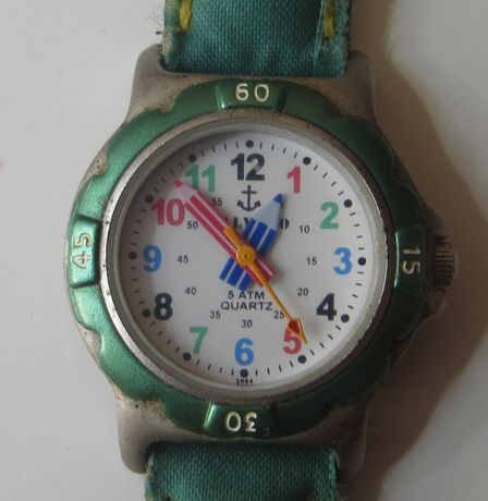 Relógio de criança