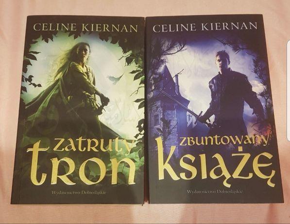"""""""Zatruty tron"""" i """"Zbuntowany książę"""" Celine Kiernan"""