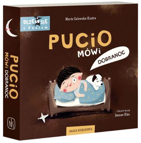Pucio mówi dobranoc książeczka nauka i zabawa dzieci HIT bestseller