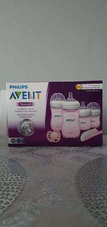 Philips natural zestaw startowy różowy nowy