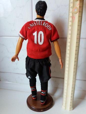 шарнирная кукла футболист коллеционный