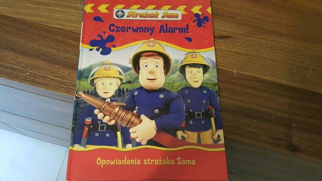 Książka czerwony alarm opowiadania strażaka sama