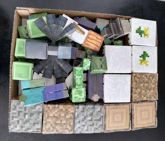 Minecraft kartonowe figurki