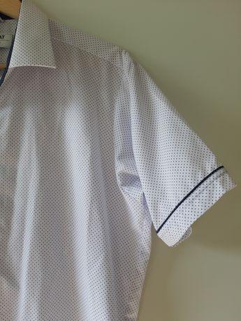 Koszula z krótkim rękawem w kropki