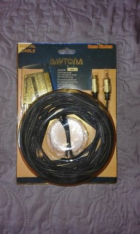 Kabel video TV/VCR+ 5 metrów