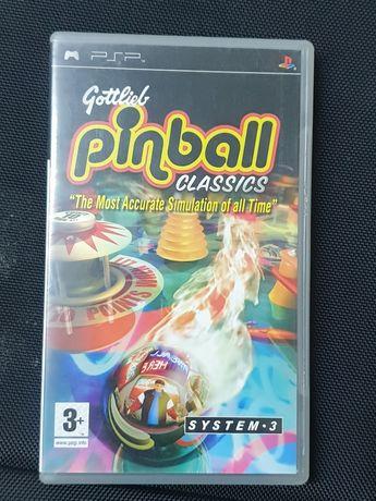 Jogo da PSP pinball clasic, em bom estado.