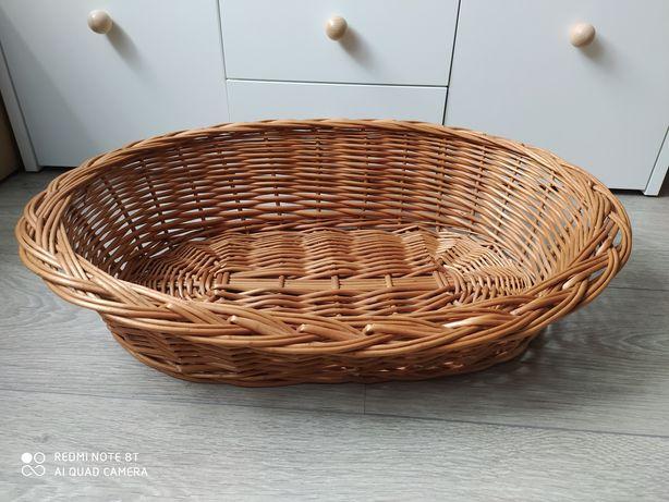 Koszyk wiklinowy legowisko