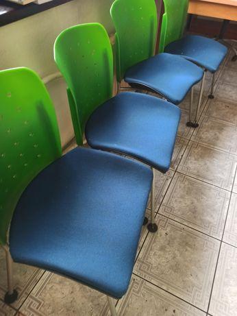 Krzesła biurowe Sitag, 8 szt