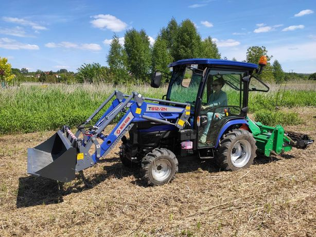 Koszenie trawy glebogryzarka separacyjna prace ziemne Będzin