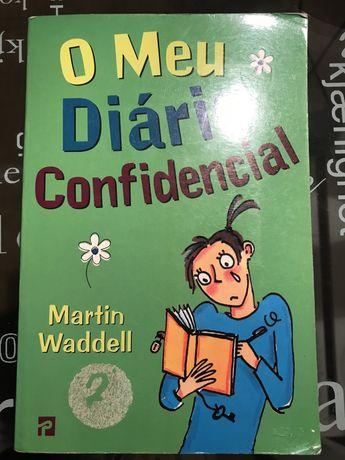 """Livro juvenil """"O Meu Diário Confidencial"""""""