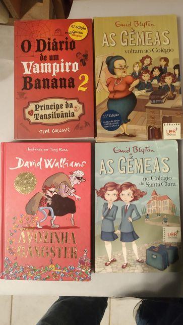 Varios livros juvenil