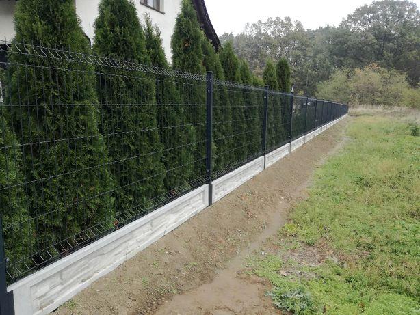 Ogrodzenie Panele ogrodzeniowe Tanio Szybko Solidnie dostawa/montaż