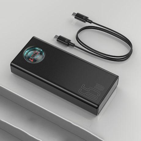 Павербанк Baseus 65W QC PD 30000 MAh портативная батарея аккумулятор