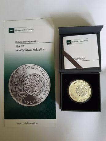 Floren Władysława Łokietka moneta